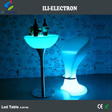 RGB remote control interactive led bar tables