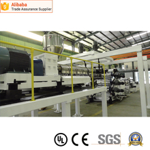 Super quality hot selling abs ps pp pe sheet production line
