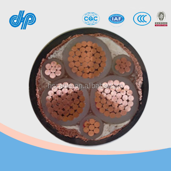 Superior quality submarine power cable pvc insulated power cable