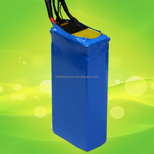24V Lithium Ion Rechargeable Batteries 40ah 50ah 60ah 80ah LiFePO4 Pack for electric scooter