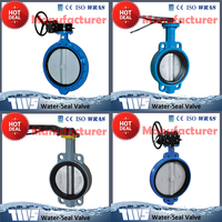 MD manual underground water butterfly valve