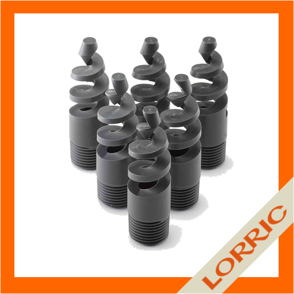 LORRIC - Industrial water vortex spiral spray nozzle