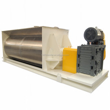 horizontal ribbon blending machine for seasoning powders