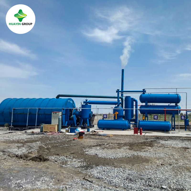 Used lube oil refining equipment with Huayin brand