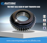 The first axle gear Sany transfer case assembly PTO case parts concrete pump parts