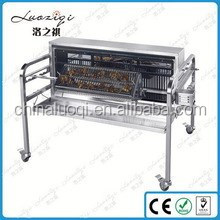 Stainless steel rotary charcoal BBQ/Barbecue grills