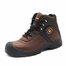 buffalo crazy horse leather S3 safety boot