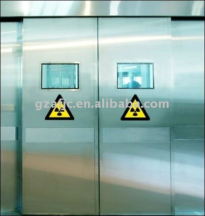 OKM protection doors, x-ray chumbo porta