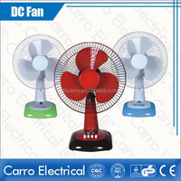 hot sale 12v dc slolar fan inverter dc table fan with timer