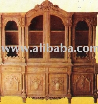 Show case (two pcs) living room furniture