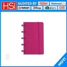 useful portable notebook plastic ring notebook
