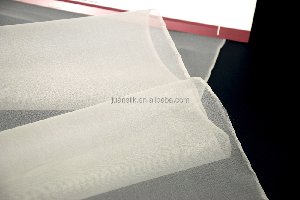 8MM SILK ORGANZA silk fabric