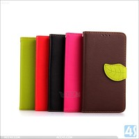 New arrival pu leather case for LG G3 D855 with tpu back cover