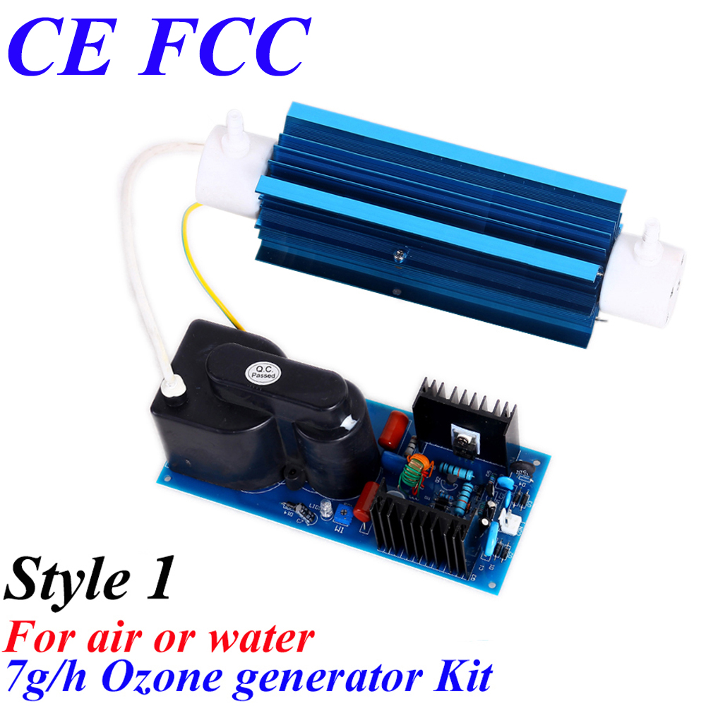 CE EMC LVD FCC portable air ozonator for hotel room