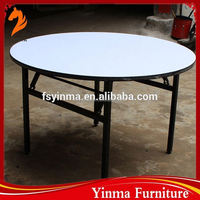 best sale used round banquet tables event plywood table