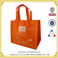 Hot sale custom reusable pictures printing non woven shopping bag