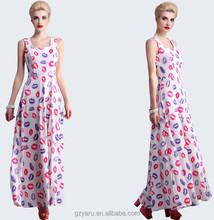 Designers dress women long maxi fashion tops bohemian dresses