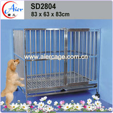 Wholesale strong stainless steel dog kennel of cost performance