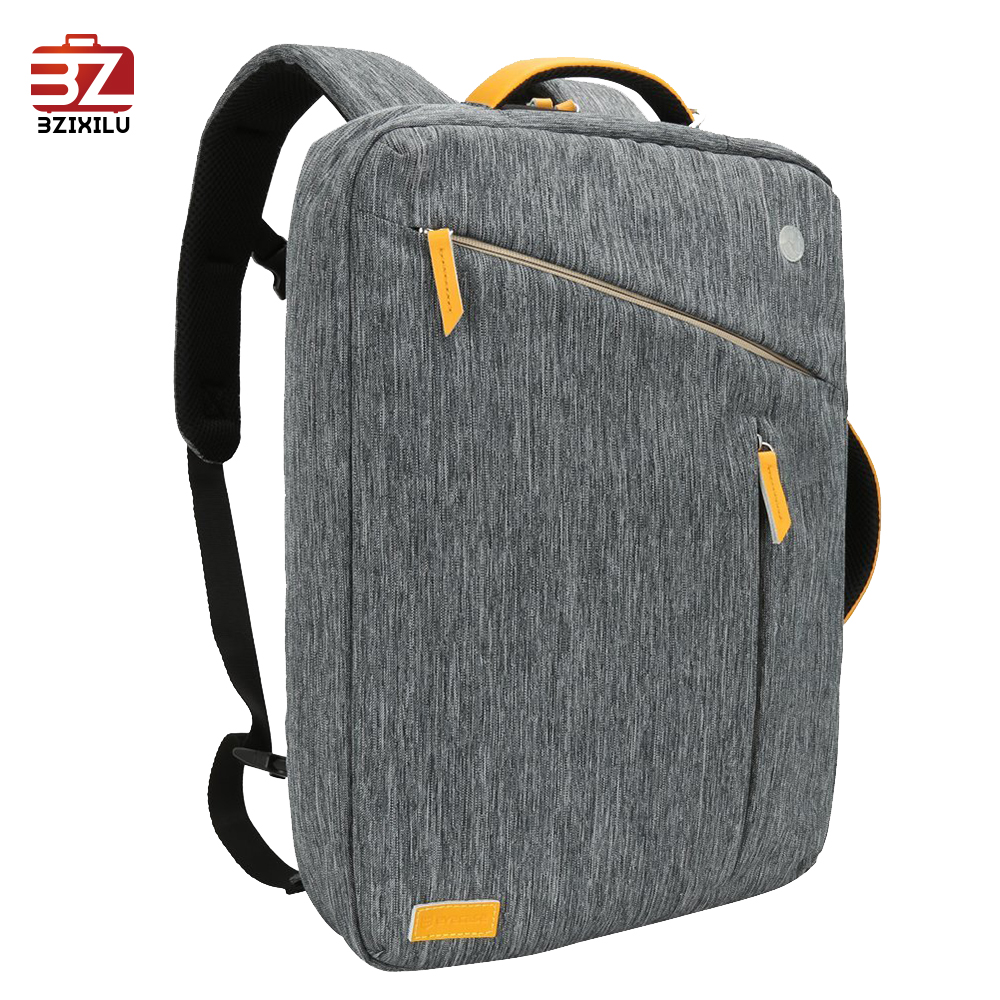 Water Resistant Laptop Backpack /Convertible Canvas Briefcase Backpack / fits up to 17.3 inch