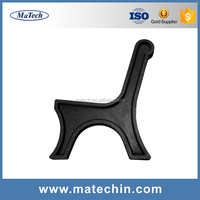 Customized Precision Iron Casting Bench Leg From Chinese Factory