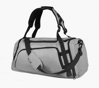New design multi-functional large capacity sports gym bag travel duffle bag with shoe compartment