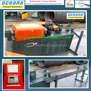 Direct factory sell! Automatic Wire Straightening & Cutting Machine/Wire rod straightening machine