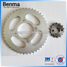 chinese manufactory for motorcycle sprocket 428 14t,motorcyle front and rear sprocket with high reputation