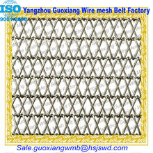 Metal dutch weave wire mesh spiral conveyor heating SUS304 belt
