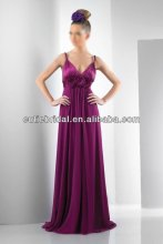 Two Straps Long Bridesmaid Dress Simple Fashion Bridesmaid Gown 4025