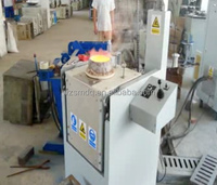 50KG Gold Induction melting furnace, induction smelter - 45KW
