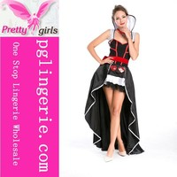 sexy skeleton costume,candy girl costume,black angel costume M4548