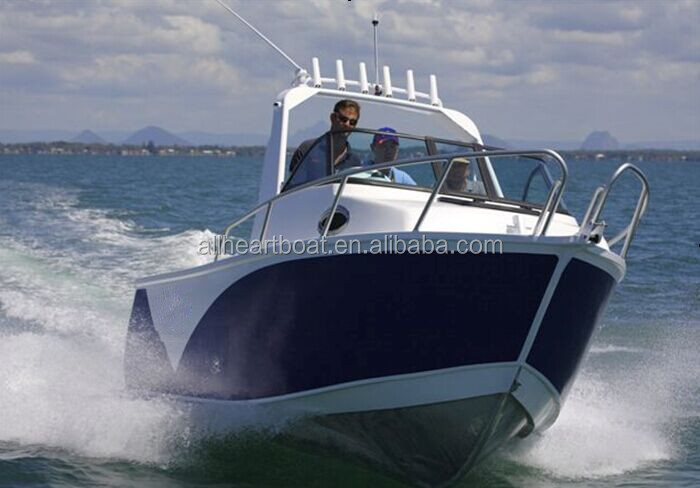 Australian Standard Aluminum fishing boat Targa pleasure boat with CE