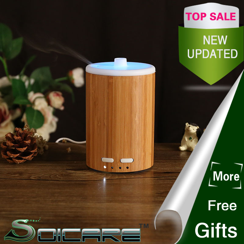 SOICARE Bamboo Ultrasonic mosquito repellent air freshener