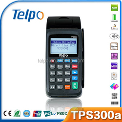New production TPS300a eft/pos terminal with card reader with dot printer