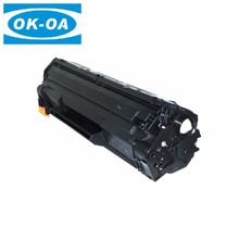 Top quality black compatible 435a 436a 285a laser printer toner cartridge for CB435 436 CE285 hp p1005 printer