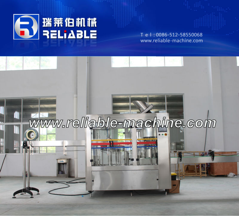 Semi Auto Spring Water Bottle Filling Machine