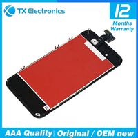 Wholesale original pass lcd for iphone 4,refurbished for iphone unlocked