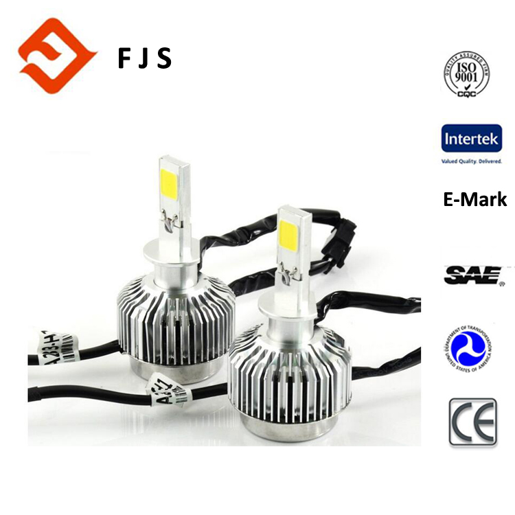 cool white Super Brights Two Sides 280 Degrees Emitting LED H1Headlight Conversion Kit