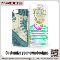 MIROOS china manufacturer customized cellphone case for iphone 6,custom cell phone case maker