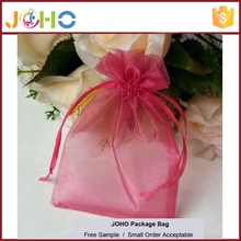 Wholesale Customized Fashion Cheap Organza jewellery packaging supplies pouches