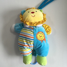 Lovely Colorful baby toy with musical pull string