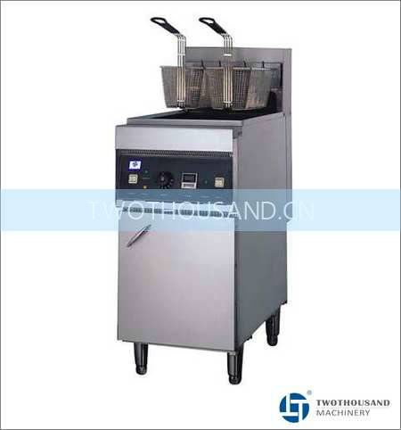 Deep Fryer Machine - 1 Tank 2 Baskets, 28 Liters, 18000 Watt, TT-WE279A