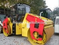 Dirt compactor of 12 ton hydraulic double drum vibro roller made in China