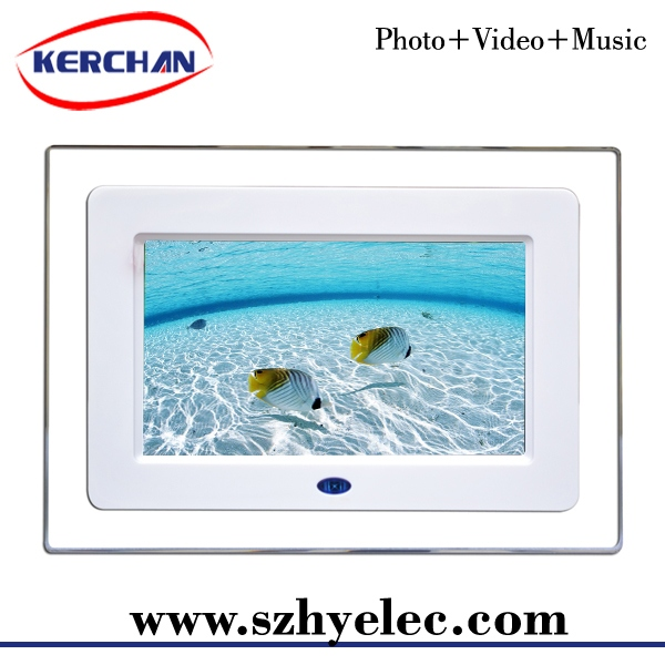 7inch digital photo frame 7 inch motion activated ad tvauto copy digital frame