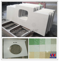 White kitchen countertop crystal white quartz/green laminate countertop/white sparkle quartz stone countertop