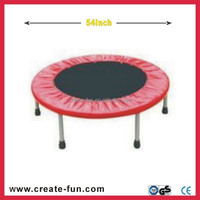 cheap 54 Inch pink mini trampoline for sale