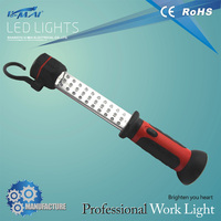 Welcomed led work light with car plug and warning function