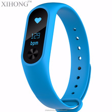 Branded color free silicone bands fitness bracelet pedometer men led sport watch wristbands