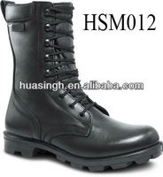XY,2013 fashion hi-gloss leather high quality special weapon defense military boots