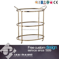 Hotel Restaurant Service Carts Kitchen Accessory Kitchen Trolley Cart Tea Trolley OK-5042
